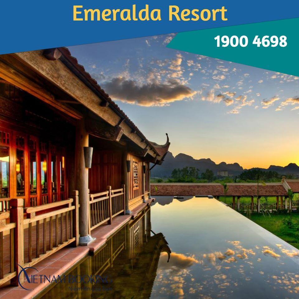 Khu nghỉ dưỡng Emeralda Ninh Bình - 2988K (Ưu đãi 10%)