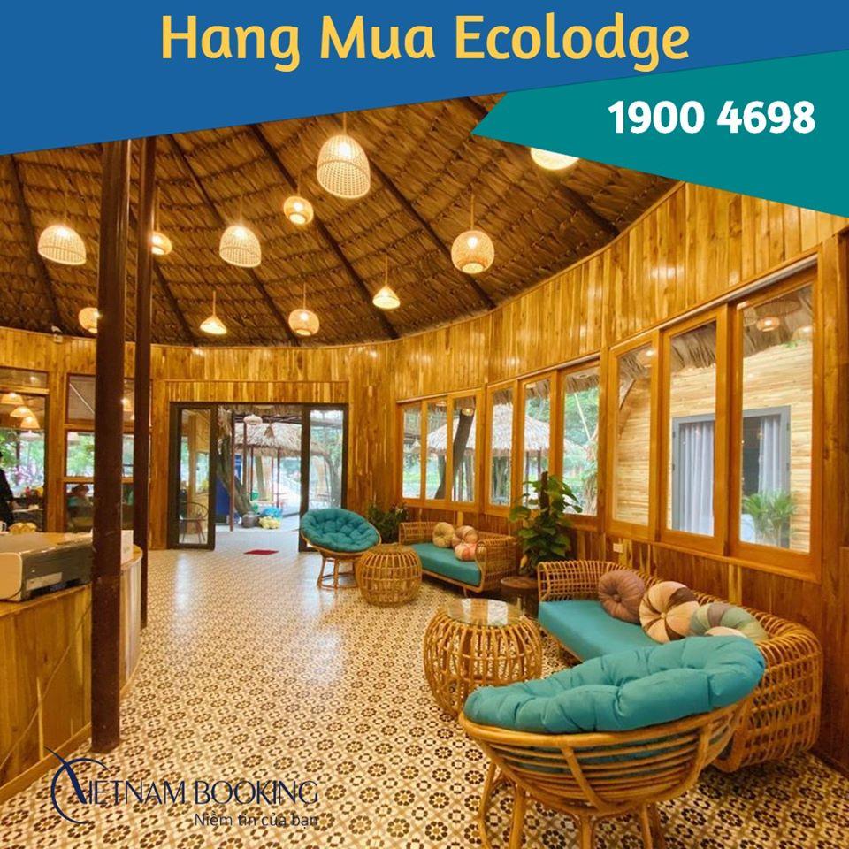 Hang Múa Ecolodge - 1100K (Ưu đãi 20%)