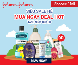 Johnson&Johnson - Siêu sale hè, mua ngay deal hot