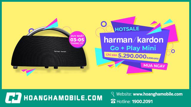 Loa Harman Kardon Go + Play Min chỉ còn 5.290.000đ