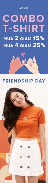 HAPPY FRIENDSHIP DAY | COMBO T-SHIRT SALE UP TO 25%