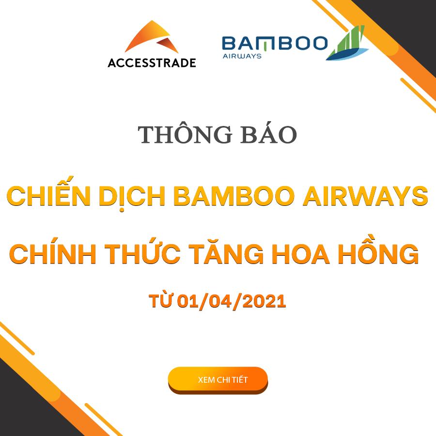 Bamboo Airways gửi bạn mã voucher CHAOHE