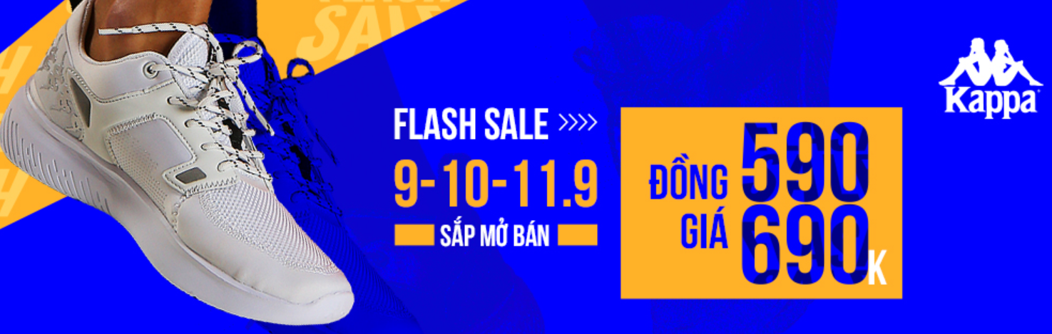 FLASH SALE KAPPA 9.9
