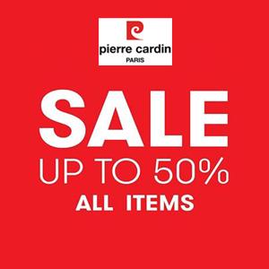 Pierre Cardin giảm 50% tất cả các sản phẩm