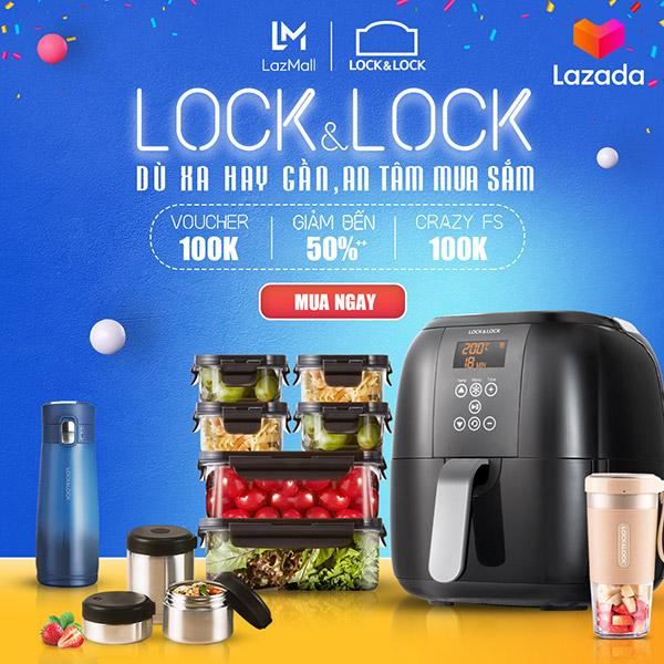 Lock& lock: Khuyến mãi lên đến 50%