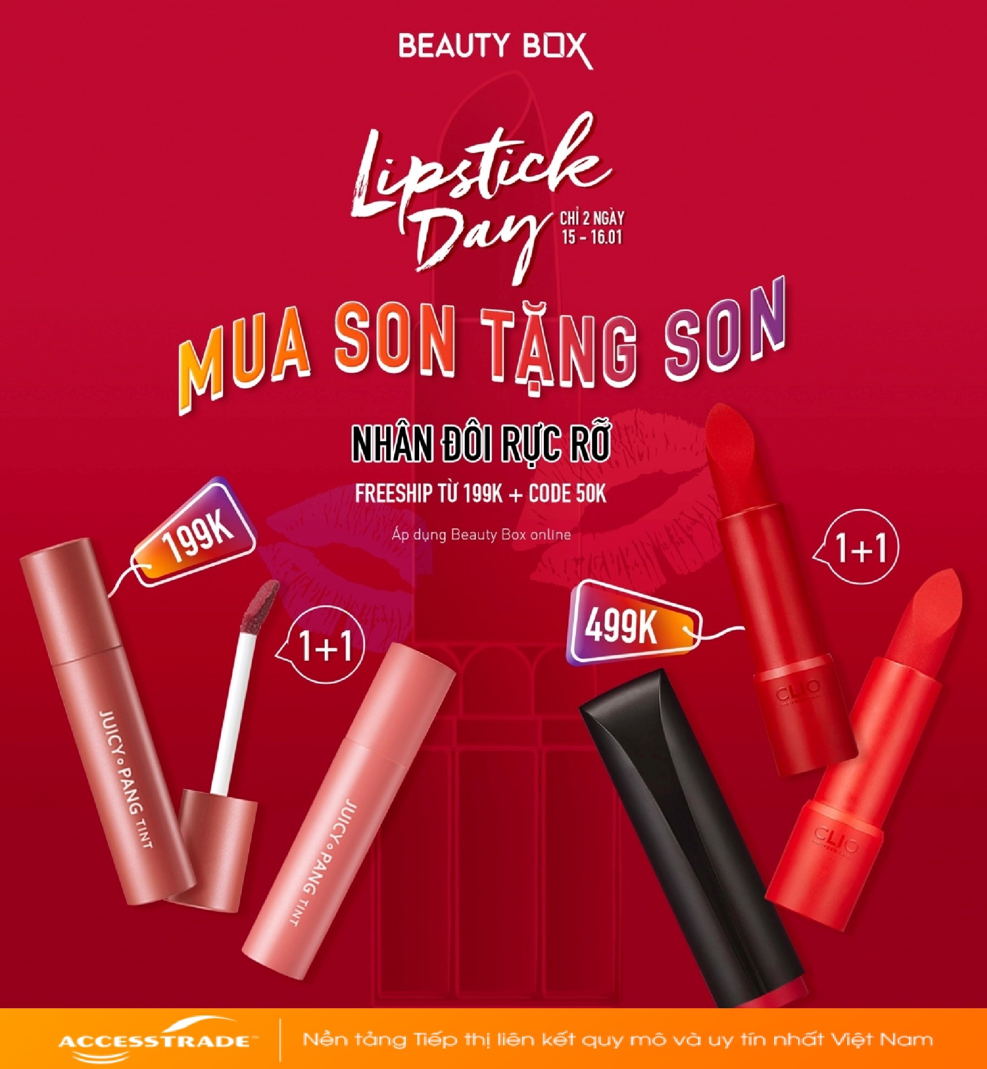 LIPSTICK DAY - MUA SON TẶNG SON