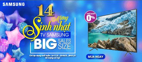 MỪNG SINH NHẬT HC 14 TUỔI - BIG SALES