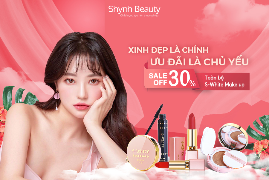 Khuyến mãi Make-up S-white Sale 30%