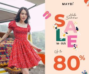 Khuyến mãi HELLO SUMMER – SALE UP TO 80%