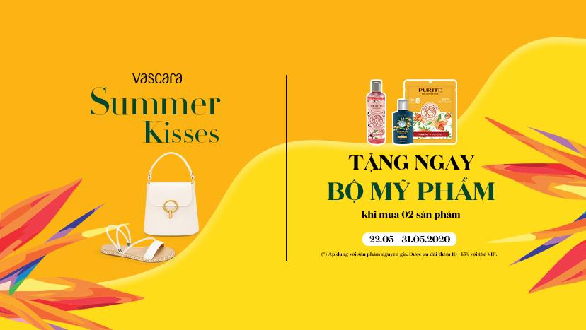 Khuyến mãi Summer Kisses – Nhận ngay Bộ mỹ phẩm đặc biệt