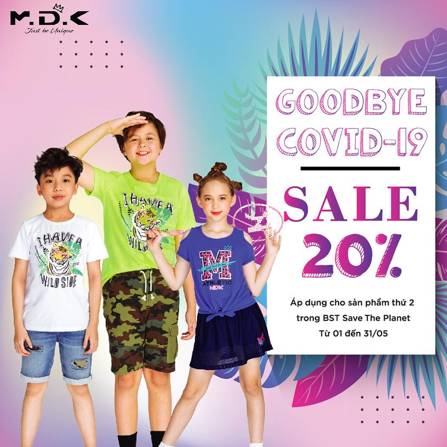 Khuyến mãi Goodbye Covid-19: Sale lên tới 20%