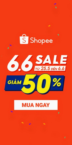 6.6 Sale Giữa Năm - Giảm 50%