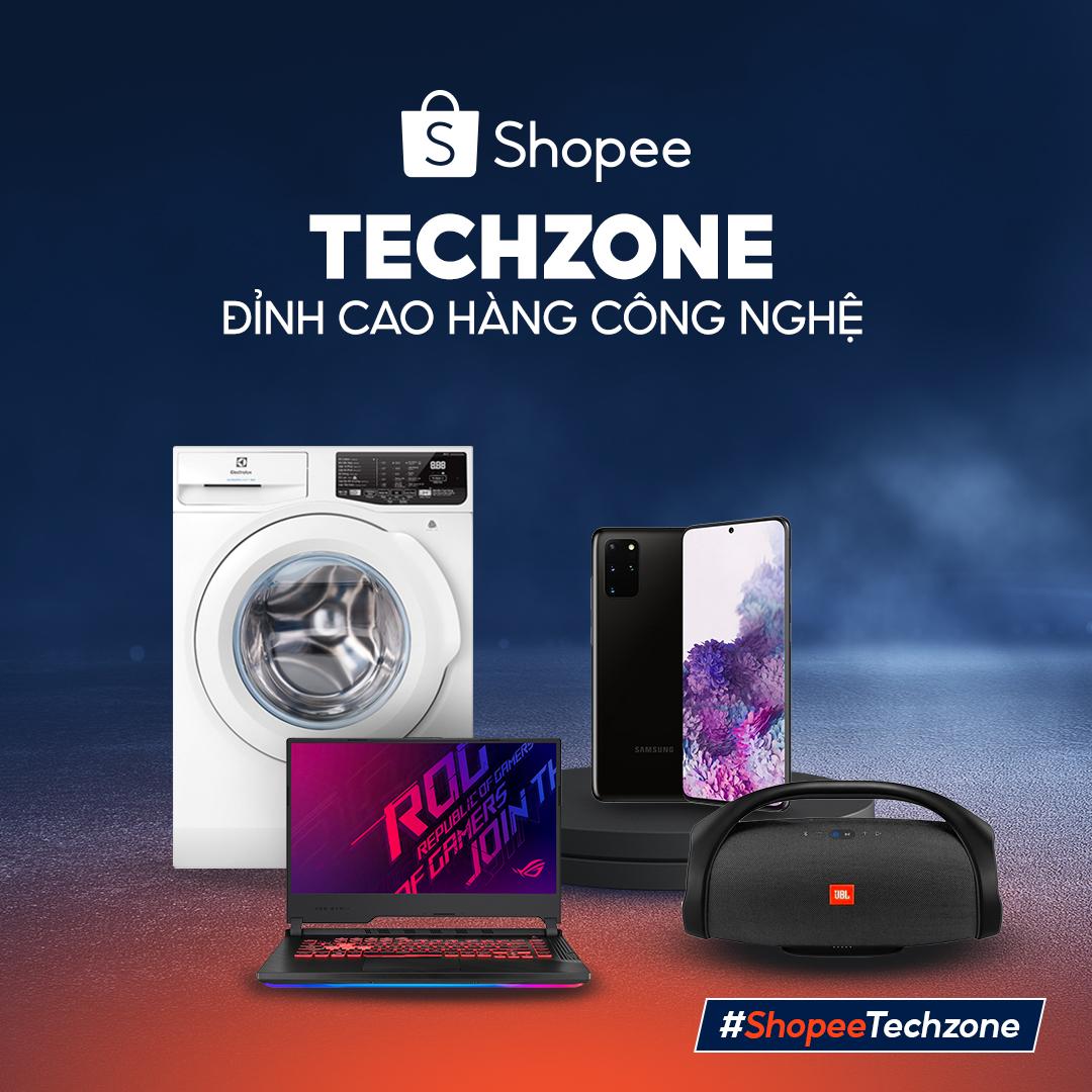 Shopee Techzone - Đỉnh cao hàng công nghệ
