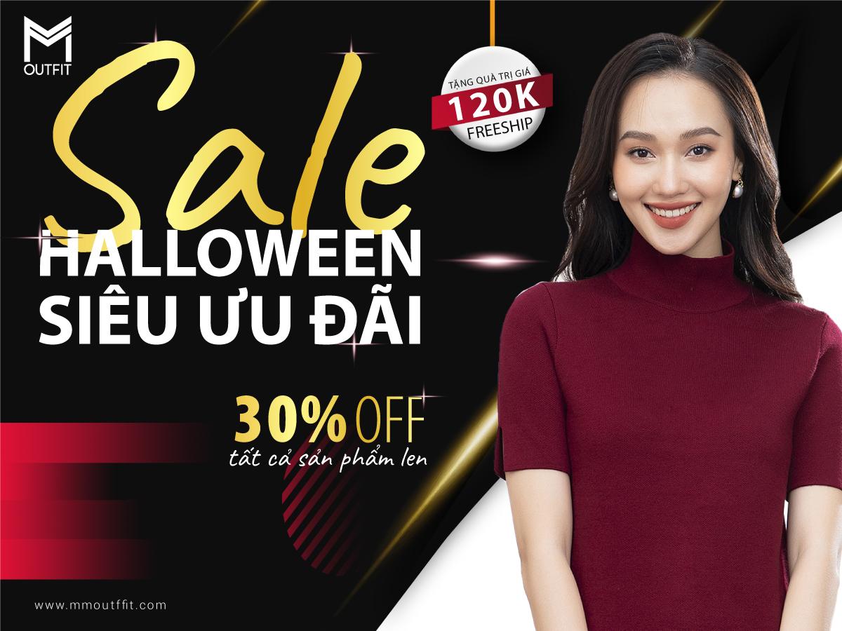 [MM Outfit] 👹👹Halloween- sale 30 % áo len👈👈