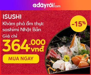 Khám phá ẩm thực sashimi Nhật Bản - Giá chỉ 364.000đ
