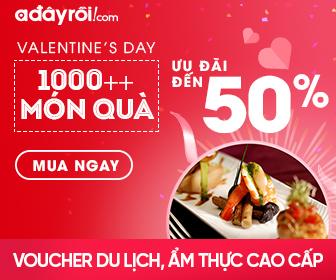 Valentine's day: hot deal ngành DV