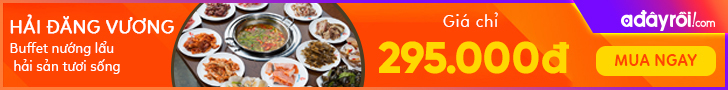 Buffet nướng lẩu hải sản tươi sống  -  Giá chỉ 295.000đ