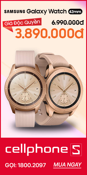 Hotsales Samsung Galaxy Watch 42mm màu hồng