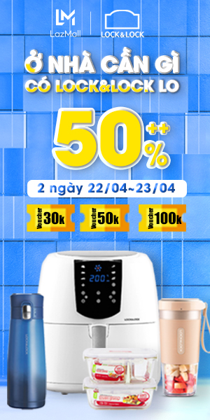 Lock&lock - Giảm đến 50%