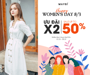 SPECIAL PROMO - HAPPY WOMEN's DAY