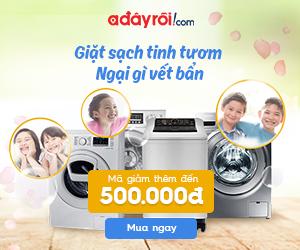 Máy giặt giá tốt - Mỗi ngày 1 code khủng đến 500.000đ