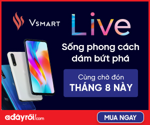 Ra mắt Vsmart Live -  Sống phong cách dám bứt phá