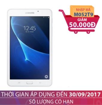 Máy tính bảng Samsung Galaxy Tab A 7.0 (T285) Wifi 4G 8GB Trắng (2016) GIẢM NGAY 50.000