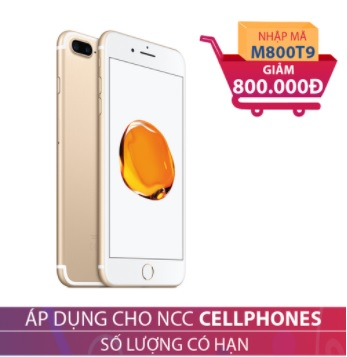 Apple iPhone 7 Plus 128GB Vàng (Certified Pre-Owned) GIẢM NGAY 800.000