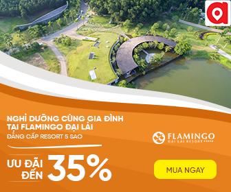 Flamingo - Tận hưởng không gian nghỉ dưỡng 5* Ưu đãi đến 35%
