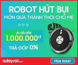 Robot hút bụi : Ưu đãi đến 1,000,000đ +Trả góp 0%