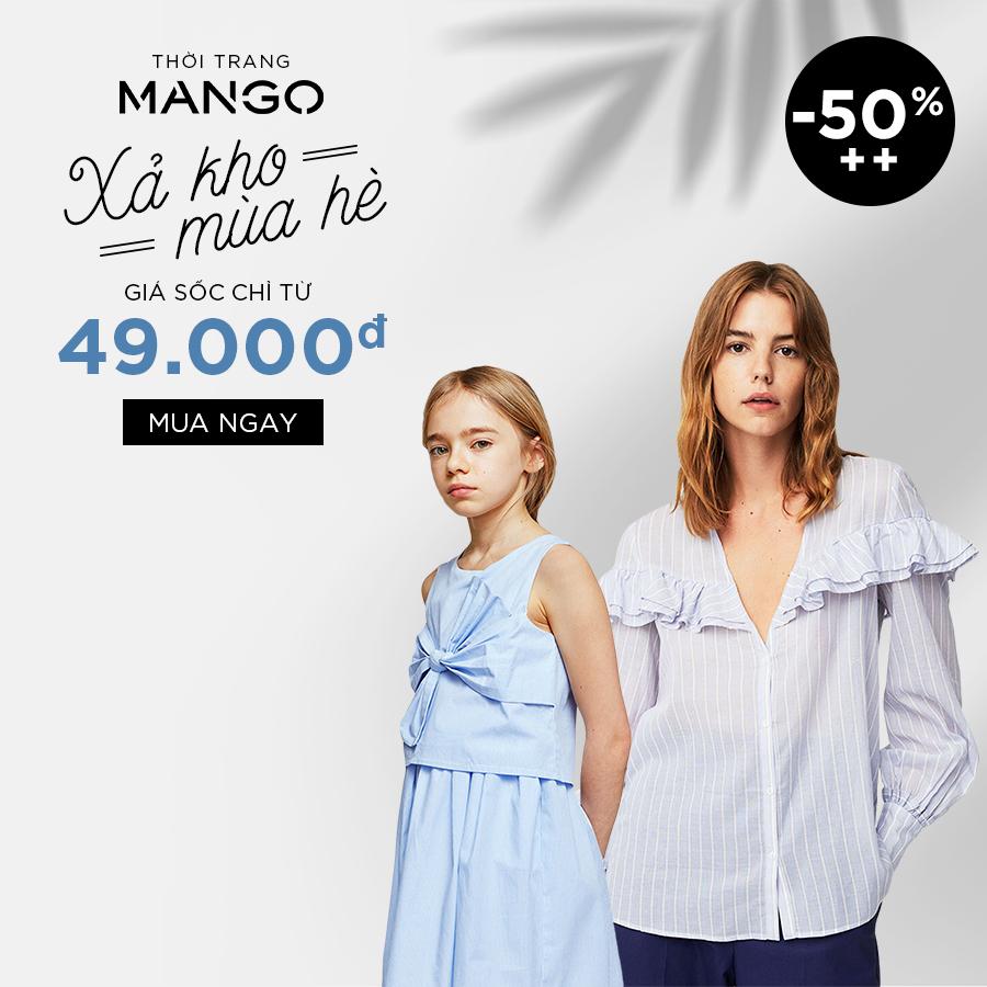 Mango Xả kho: Giá sốc chỉ từ 49K