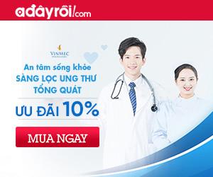 Sàng lọc ung thư tổng quát - Ưu đãi 10%