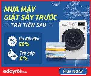 Khuyến mãi Máy giặt máy sấy – Ưu đãi đến 50%