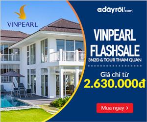 Vinpearl 3N2Đ & Tour tham quan flash sale giá chỉ từ 2.630.000đ