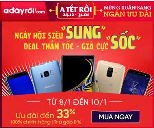 Ngày hội siêu Sung - Deal thần tốc , giá cực Sốc