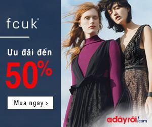 FCUK – ưu đãi đến 50%