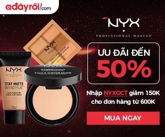 NYX - Ưu đãi đến 50%