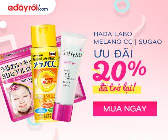 Hada Labo | Melano CC | Sugao - Ưu Đãi 20% Đã Trở Lại