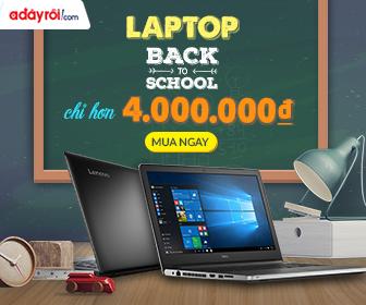 Laptop giá sốc chỉ hơn 4.000.000đ