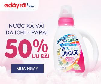 Nước xả vải Daiichi – Papai Nhật Bản - ưu đãi đến 50% - Chỉ tại Hà Nội