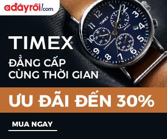 Timex  - Ưu đãi đến 30%