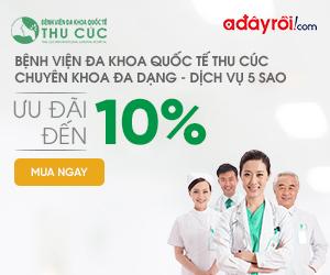 Bệnh viện Thu Cúc - Giảm 10% Độc quyền
