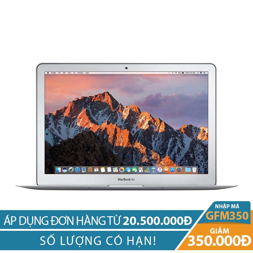 Giảm ngay 350K khi mua Apple Macbook Air 2017 MQD32 128GB 13 inches Bạc (Hàng nhập khẩu)