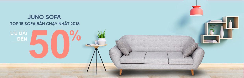 Top 15 mẫu Sofa bán chạy nhất 2018