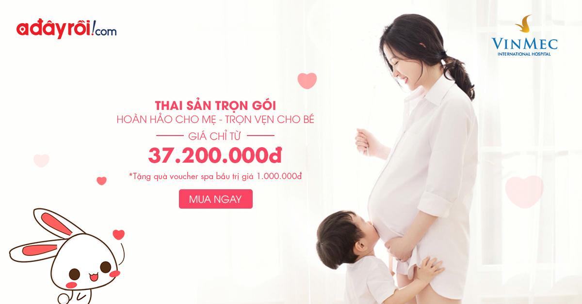 Thai sản và sinh con trọn gói