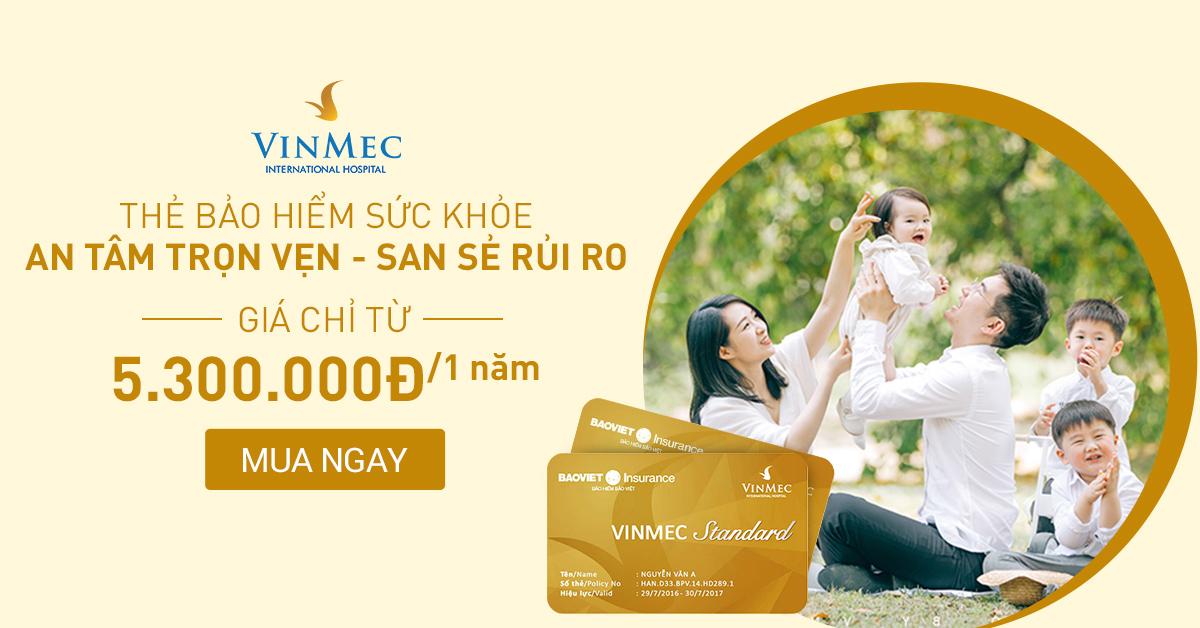 Thẻ bảo hiểm Vinmec