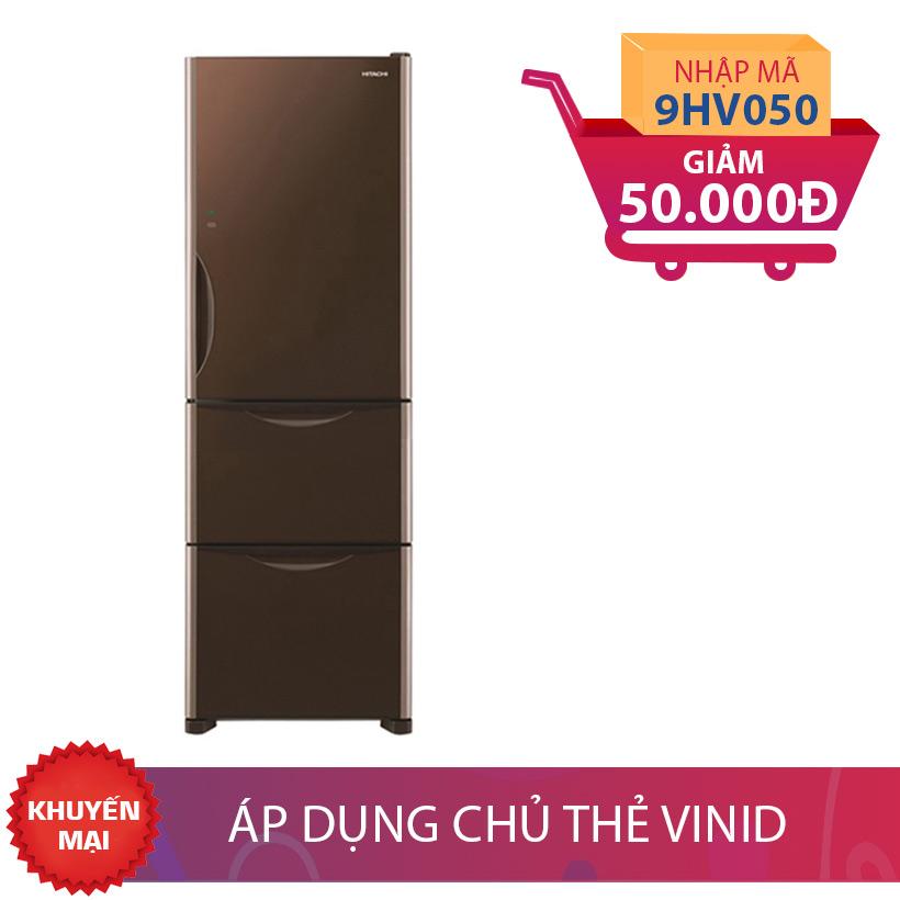 Tủ lạnh Hitachi R-SG38FPGV (GBW) 375L Inverter nhập mã để có giá ưu đãi hơn