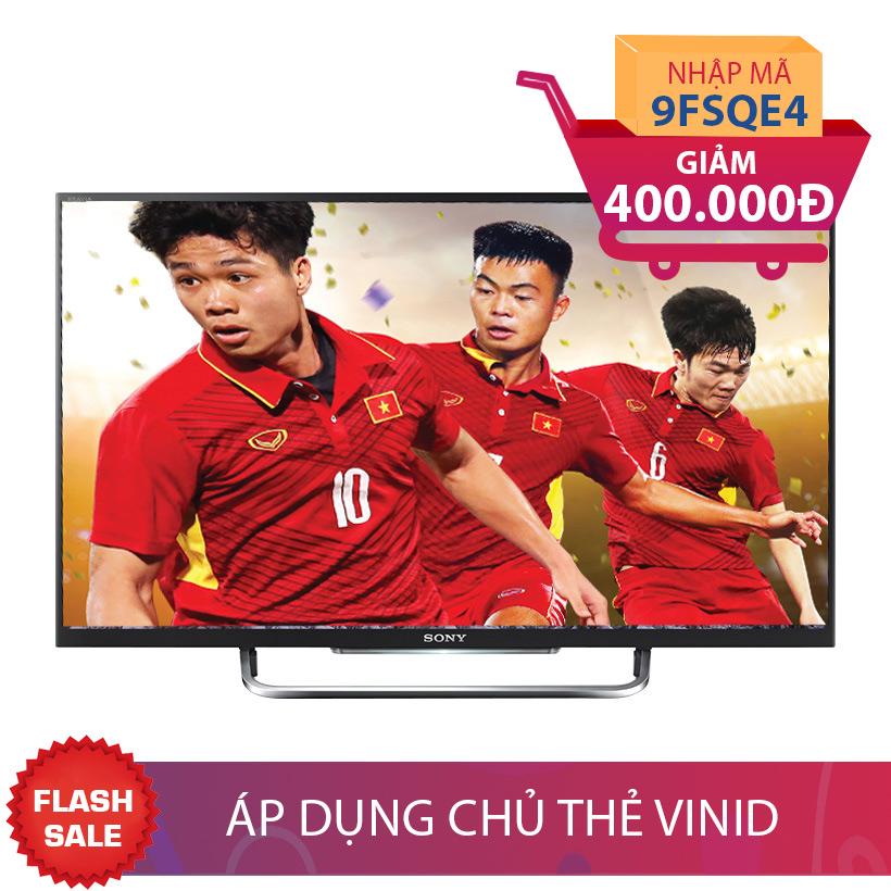 Smart Tivi LED 3D Full HD Sony 55 inch KDL 55W800C nhập mã để giảm thêm 400K