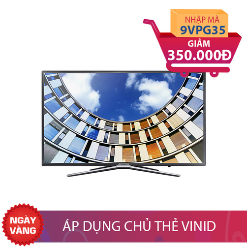 Smart TV Full HD Samsung 43 inch 43M5500 Nhập mã để giảm thêm 350K