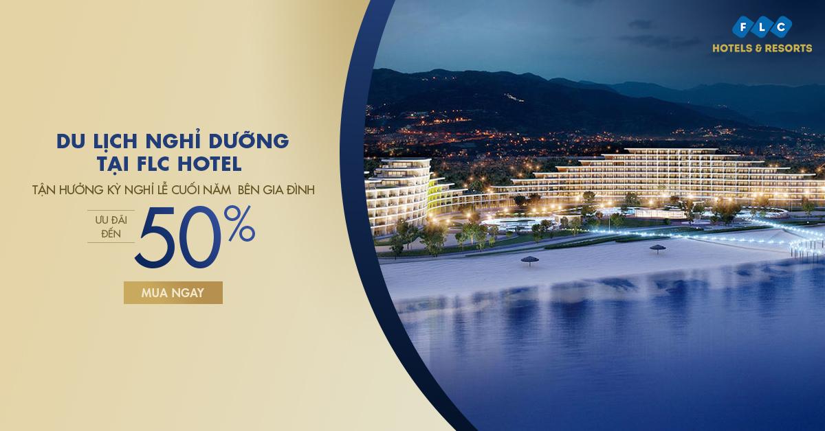 Vui chơi nghỉ dưỡng tại Resort 5* FLC - Ưu đãi tới 50%